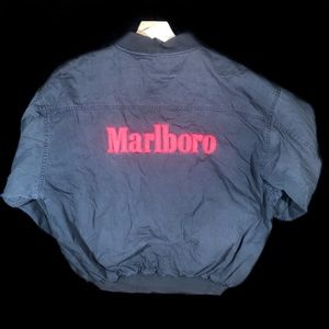 Vintage Marlboro Faded Jacket Size Medium M